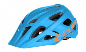 Bilde av CUBE AM RACE Hjelm, blue n orange